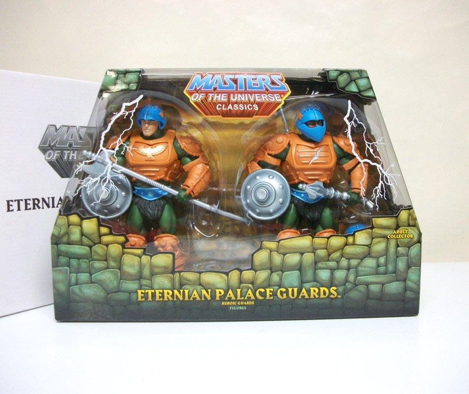 MOTUC 2-pack Palace Guards He-Man Masters of the Universe Classics figure eternian Mattel 2010