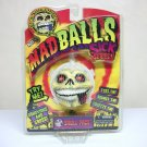 Madballs Skull Face Sick Series 1 #1567 squishy skeleton retired Basic Fun 2007