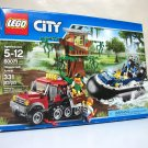 Hovercraft Arrest Lego City 60071 set swamp hideout crooks police damaged 331 pc 2015