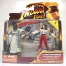 Indiana Jones Marion Ravenwood & Cairo Henchman set Raiders of the Lost Ark rola 2008