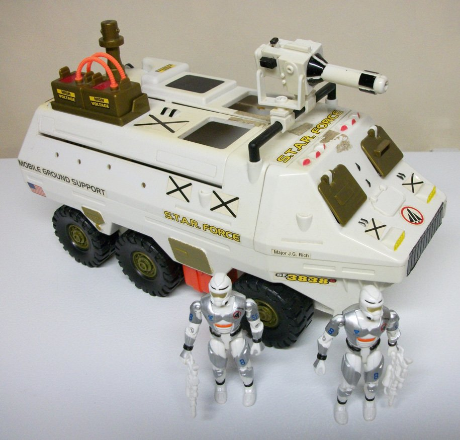 Lanard Star Force Mobile Ground Support vehicle The Corps figures lot soldiers space g.i. joe 1998