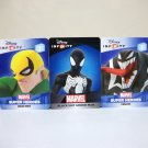 Venom Iron Fist Black Suit Spider-man web code Marvel Disney Infinity 2.0 3.0 card lot new unused