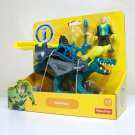 2013 Saharicus Imaginext dinosaur green lizard dino riders figure Fisher Price