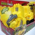 DinoTrux Mound Movin' Dozer yellow triceratops dreamworks netflix Mattel 2016