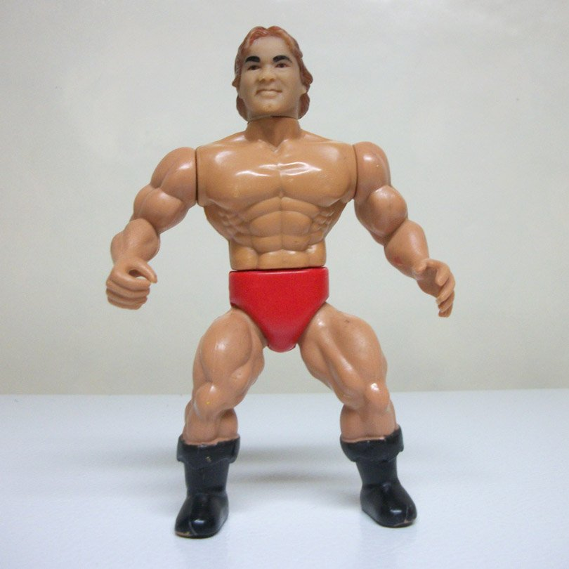 1985 Remco Larry Zbyszko AWA All Star Wrestlers vintage figure he-man motu 1980s