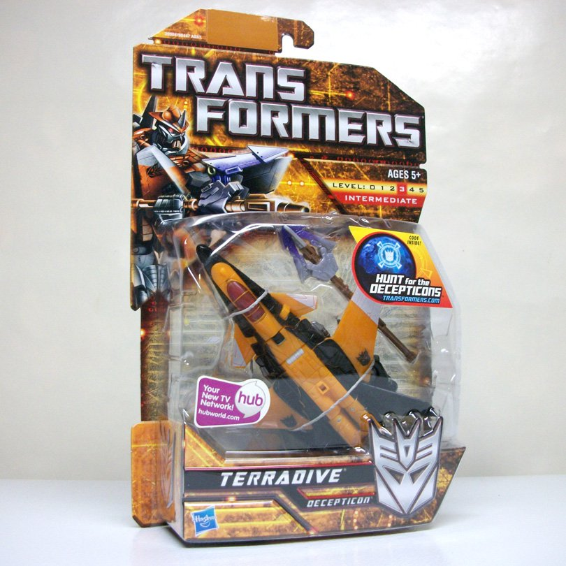 Transformers Terradive Deluxe Class Hunt for the Decepticons movie figure Hasbro 2010