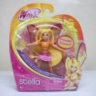 "Winx Club Stella 3.75"" fairy Believix Collection figure doll nickelodeon Jakks Pacific 2012"