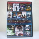 Puppet Master / Killjoy 12 Film Collection DVD 3-disc set full moon horror 2012