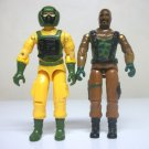 1984 Airtight & Roadblock lot G.I. Joe loose vintage figures cobra gijoe 1985