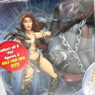 2007 Witchblade Pitt Legendary Comic Book Heroes series head torso toybiz Marvel Toys
