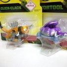 DinoTrux Tortool & Click-Clack Reptool Rollers dreamworks netflix robot dinosaurs Mattel 2017