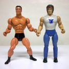 1985 Commando & Rambo vintage lot Arnold Stallone force of freedom loose figure 1986