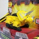 DinoTrux Dozer diecast toys dreamworks netflix yellow triceratops dinosaurs Mattel 2015