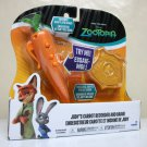 Zootopia Judy's Carrot Recorder pen & badge police set hopps Tomy 2016