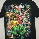 Avengers Classic #1 Mens medium black t-shirt Arthur Adams artwork cover art Marvel Universe