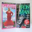 Pink Flamingos & Tetsuo The Ironman VHS lot nc-17 cult classics john waters cyberpunk 1972 1992