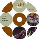 TAFY Live Love Dream DVD