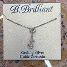 B. Brilliant key necklace