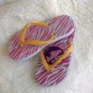 Chatties Girls Flip Flops (size XL 3-4)
