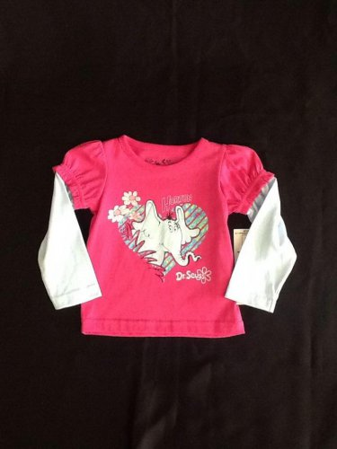 Dr. Seuss Horton  Long Sleeve Shirt (size 24M)