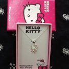 Hello Kitty Ballerina Sterling Silver Necklace
