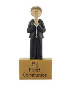 My First Communion Boy on a Block
