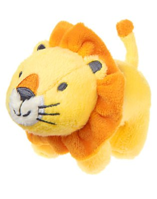 Lion Plush Baby Rattle
