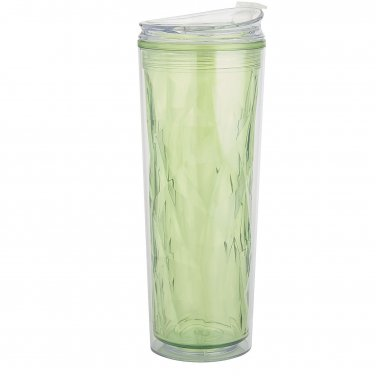 Green Acrylic Double Wall Tumbler