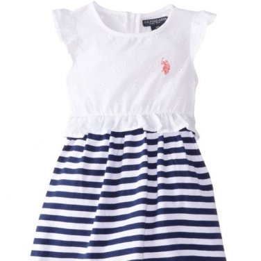 U.S. Polo Girl's Dress