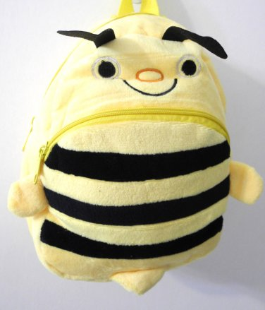 Lovely yellow Honey Bee Backpack for Childen Kid (Faux Fur)