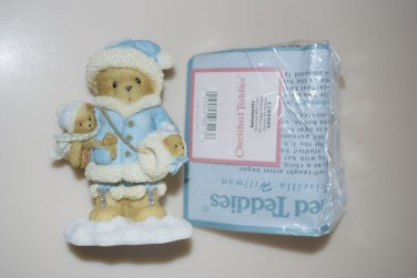 "Cherised Teddies Antoinette ""Decorate With Love For A Happy Holiday"" Figurine"