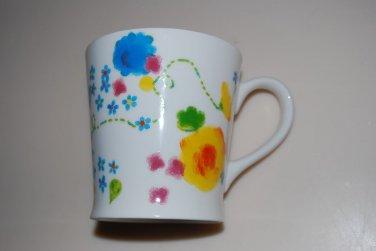 Starbucks Floral Flower Pot Mug Cup 2006