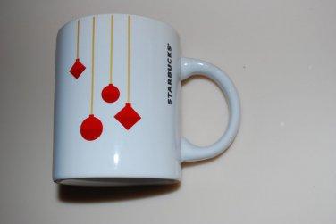 Starbucks Christmas Red Ornament Mug Cup