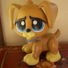 Large Littlest Pet Shop Walking Brown Dog