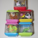 Peek A Blocks Fisher Price Wild Animal Blocks Panda Monkey Parrot Zebra Croc