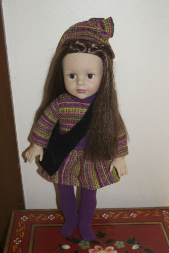 "Madame Alexander Favorite Friends Brunette Brown Hair & Eyes 18"" Doll"