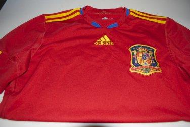Spain RFEF Espana Adidas Soccer Fusbol Futbol Jersey S