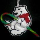 Candy Cane Holder - Polor Bear