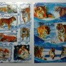 Tigers Stickers sheet