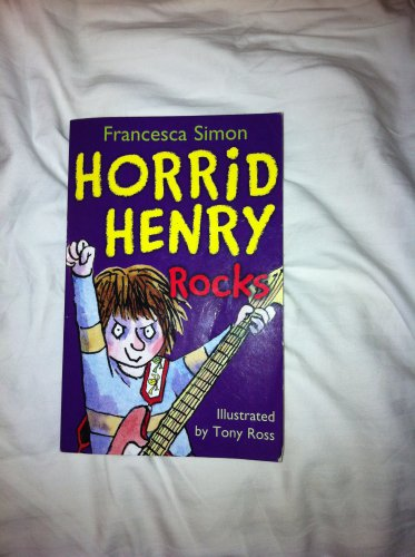 Horrid Henry Rocks Childrens book