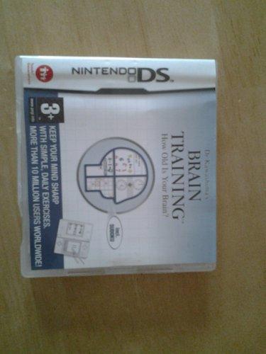 Nintendo ds Brain training game