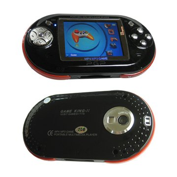 Portable MP4 and Game Player