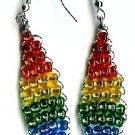 Rainbow Diamond Earrings