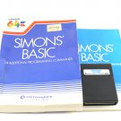 Simons Basic For Commodore 64 C64 With Box & Manual