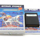 Star Post Game Cartridge For Commodore 64 C64 With Box & Manual