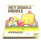 Spinnaker Hey Diddle Diddle Game Disk For Commodore 64 C64 With Box & Manual