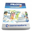 Pilot Software For Commodore 64 C64 With Box & Manual