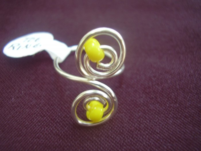 Yellow Toe Ring