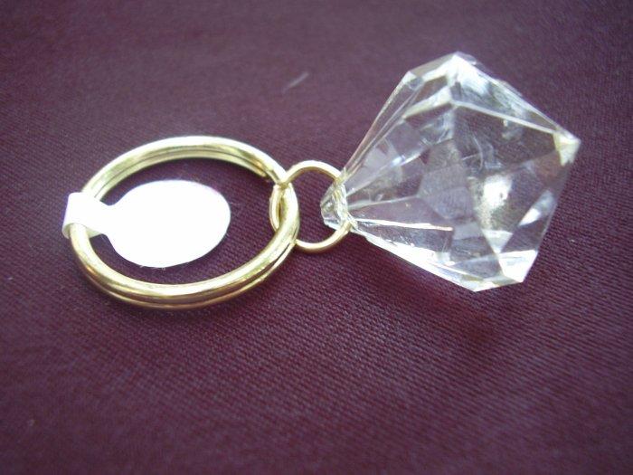 Gold Bling Key Ring