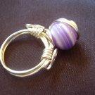 Purple Circles Ring